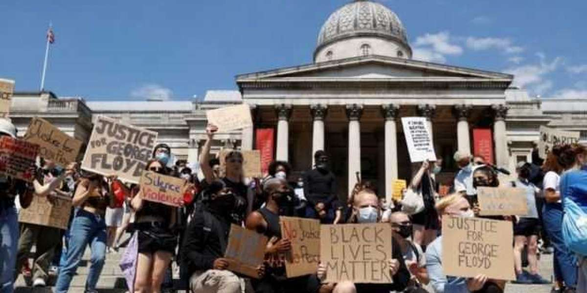 George Floyd death: Thousands join UK protests